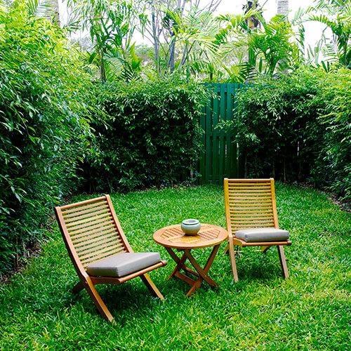 guarde los muebles de jardin