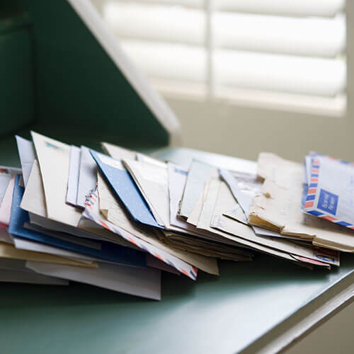 organizar el correo
