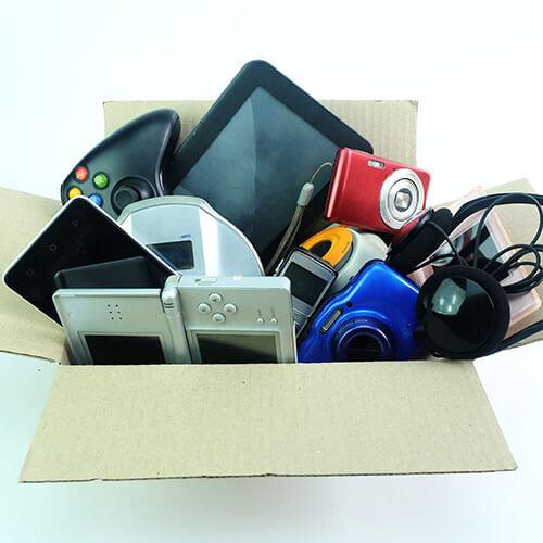 recicle aparatos electrónicos