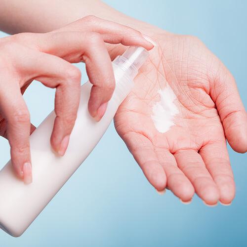 Mantenga la piel hidratada