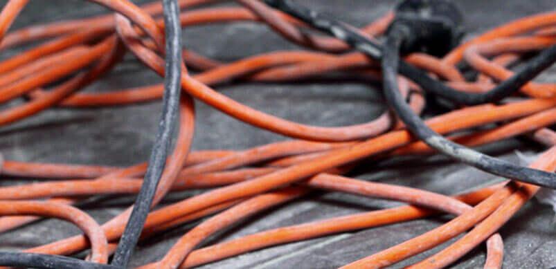 Desenrede el cable